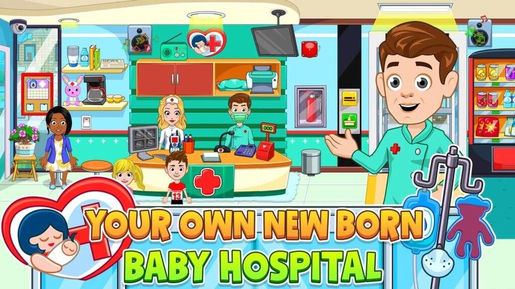 Подробнее об игре My City : Newborn baby