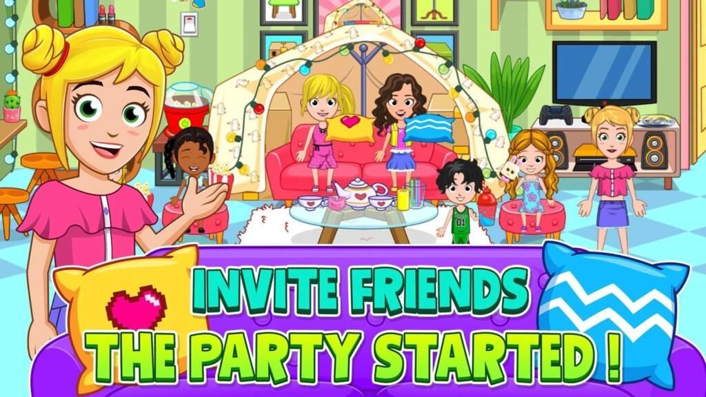Подробнее об игре My City : Pajama Party