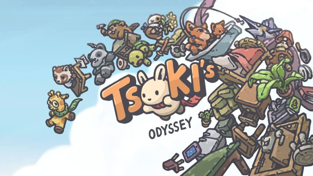 Одиссея Цуки - пассивная приключенческая игра