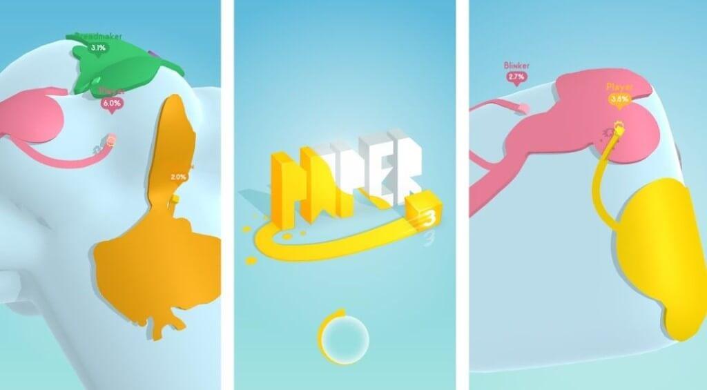 Paper.io 3D - классный геймплей