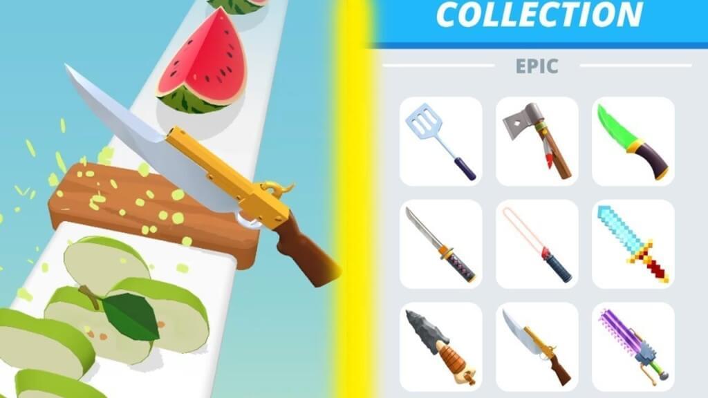 Геймплей в игре Perfect Slices