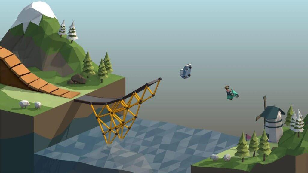 Подробнее об игре Poly Bridge
