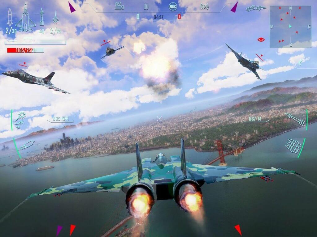 Эпические воздушные сражения в Sky Gamblers