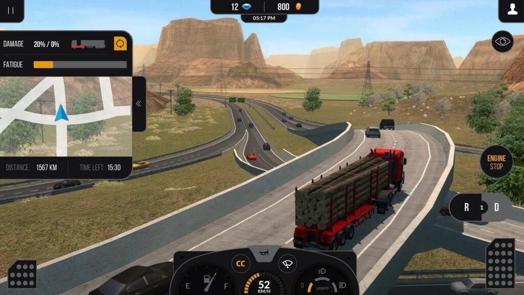 Truck Simulator PRO 2 - профессия водителя грузовика