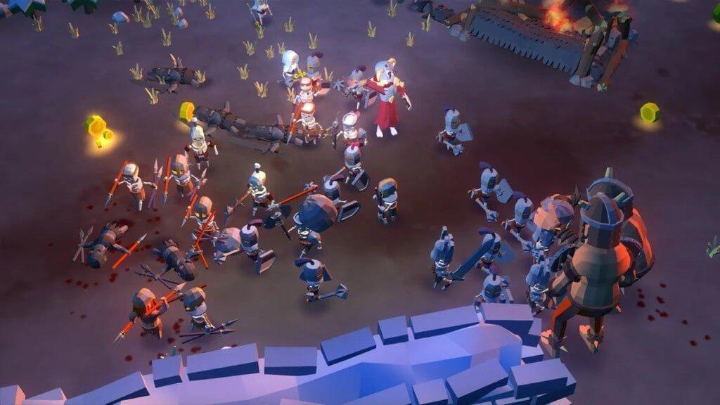 Undead Horde - создание злой армии