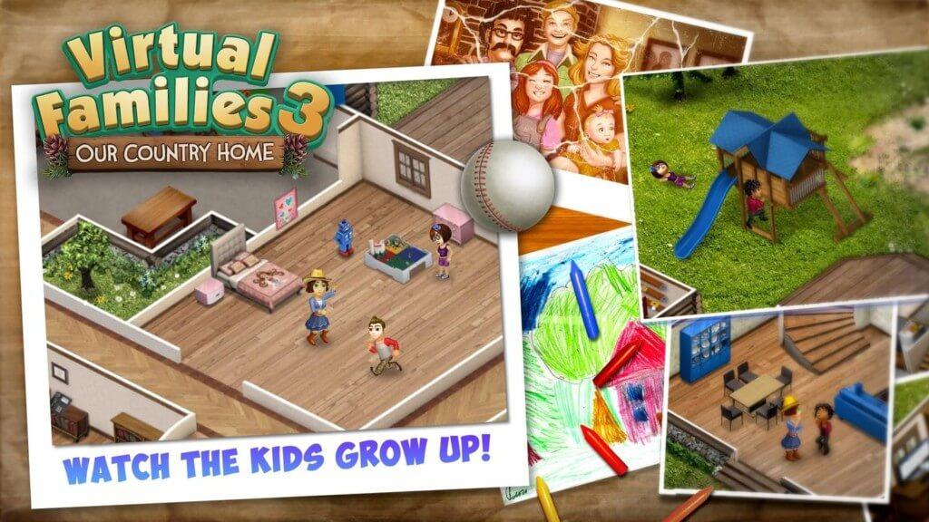 Знакомство с Virtual Families 3