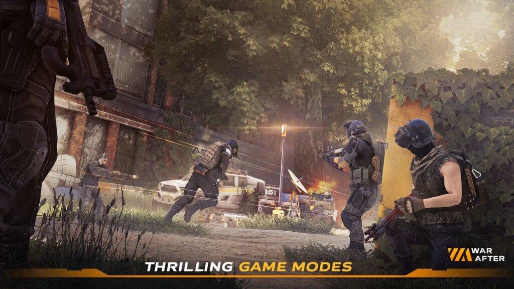 Геймплей в игре War After