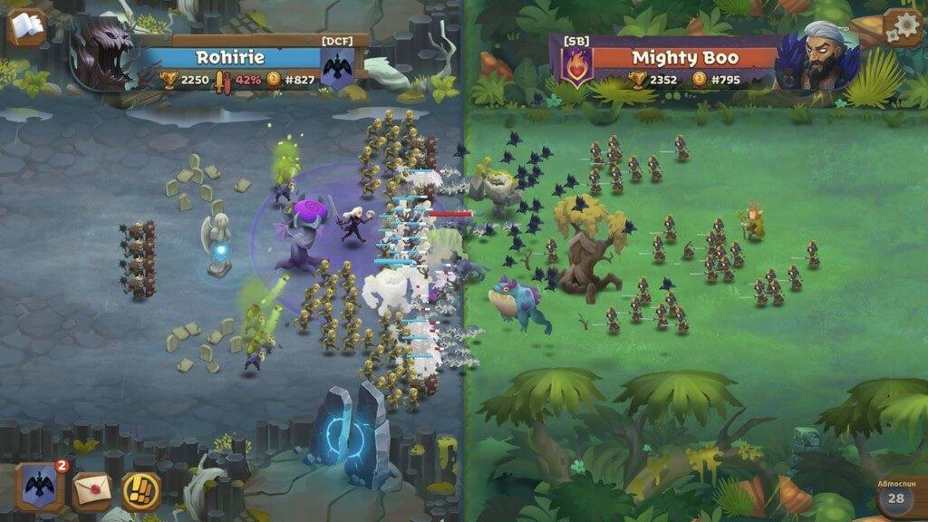 Battle Legion - оригинальный геймплей