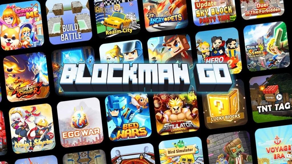 Разные мини-игры в игре Blockman Go