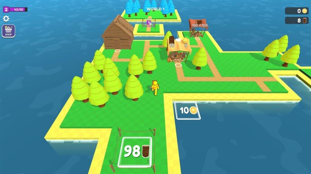 Craft Island - построй свой остров
