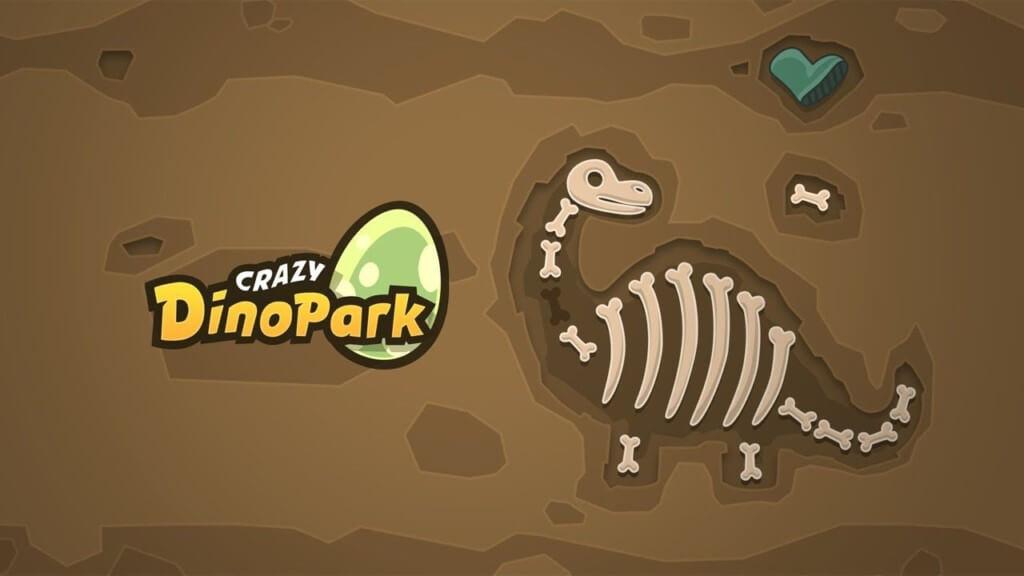 Crazy Dino Park - ищите останки динозавров