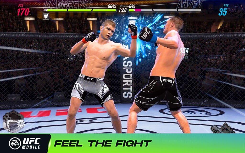 EA SPORTS UFC Mobile 2 - завершите кампанию и станьте настоящим чемпионом