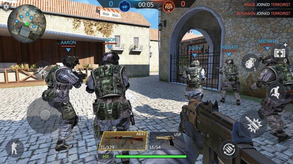 FPS Online Strike - популярные режимы игры