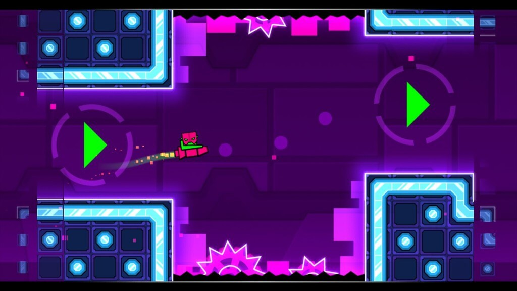 Geometry Dash Meltdown - сложный геймплей