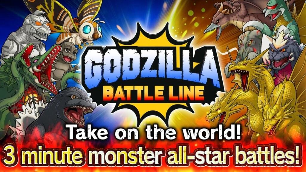 Godzilla Battle Line - сражайтесь в увлекательных онлайн-сражениях