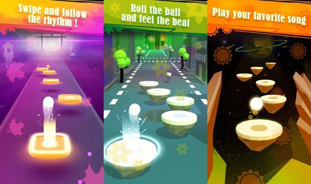 Hop Ball 3D - сложные, но увлекательные уровни