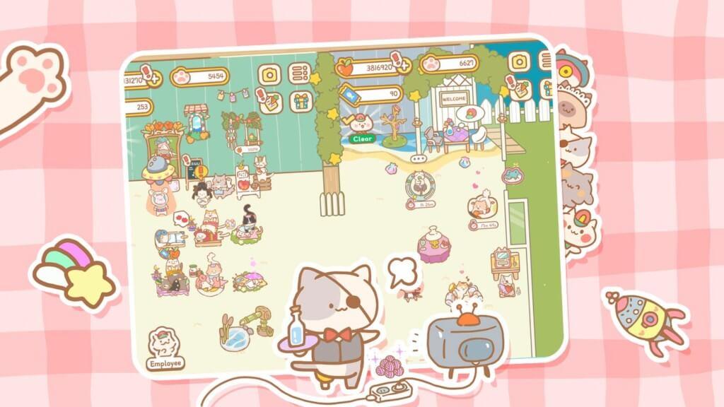 Милые кошки повсюду в игре Кошачье спа / Cat SPA