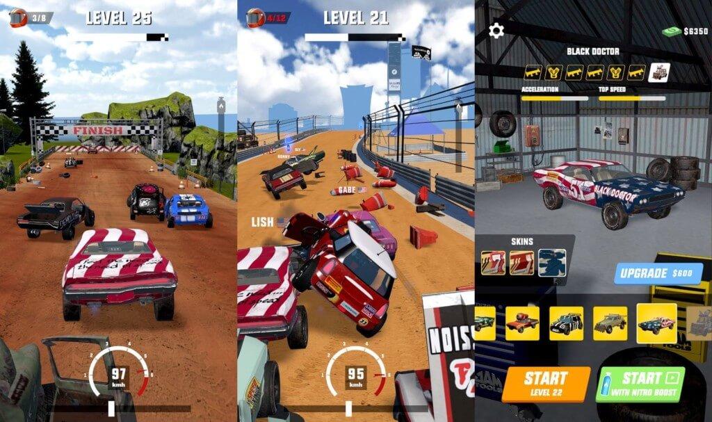 Mad Racing 3D - сумасшедшие гонки