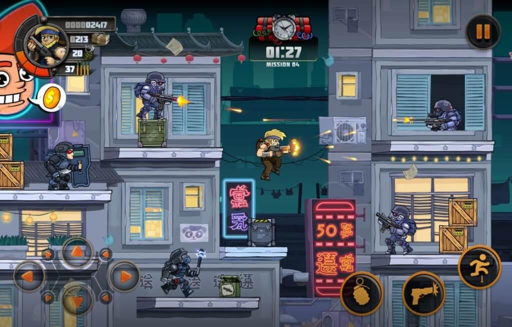 Metal Soldiers 3 - множество увлекательных миссий
