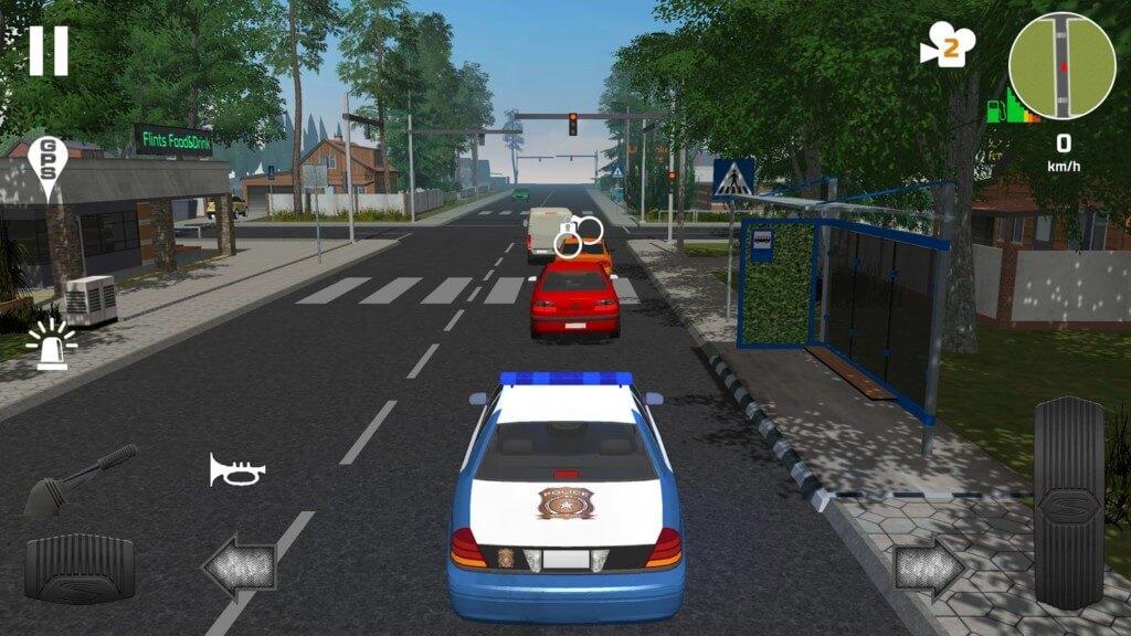 Police Patrol Simulator - патрулируйте город и штрафуйте нарушителей