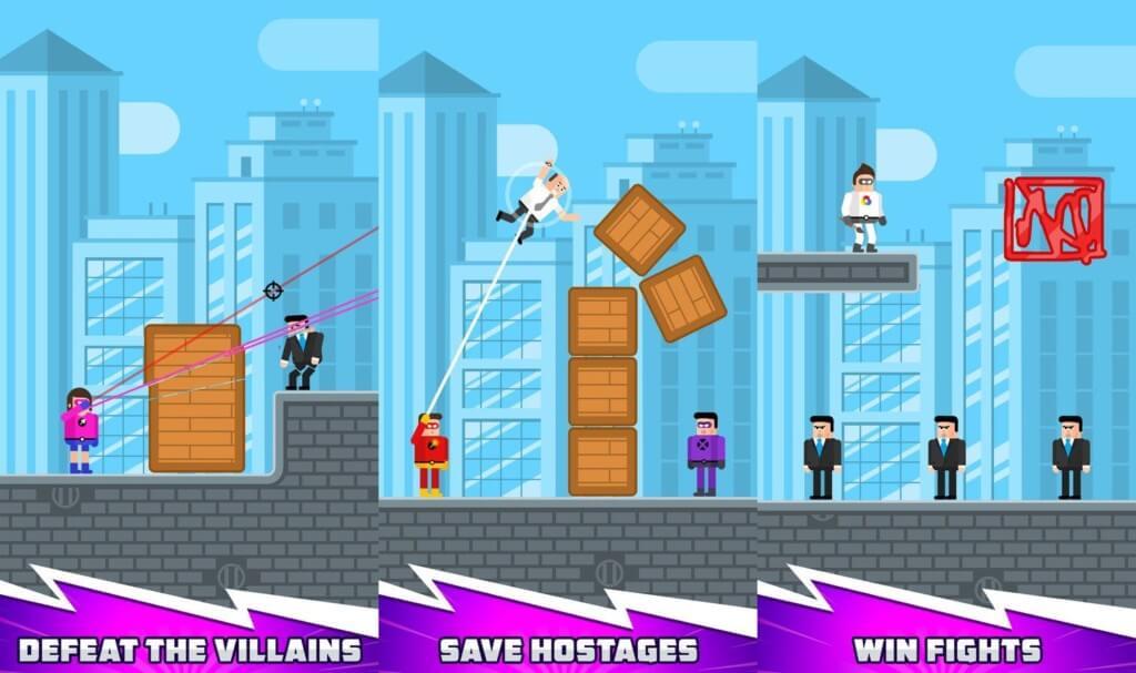 The Superhero League - бросьте вызов злодеям