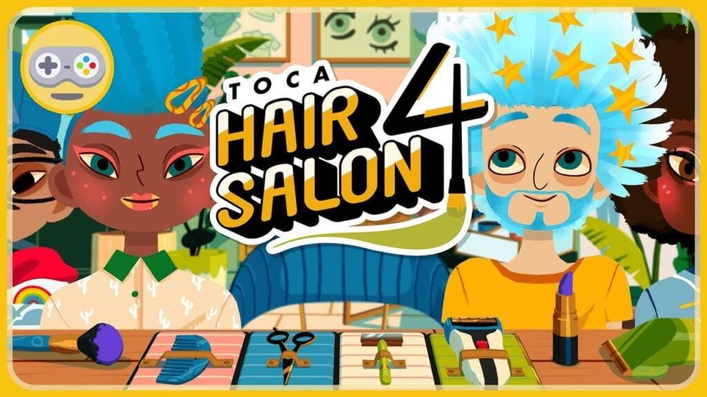 Что такое Toca Hair Salon 4