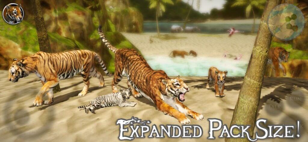 Ultimate Tiger Simulator 2 - реалистично воссозданные джунгли