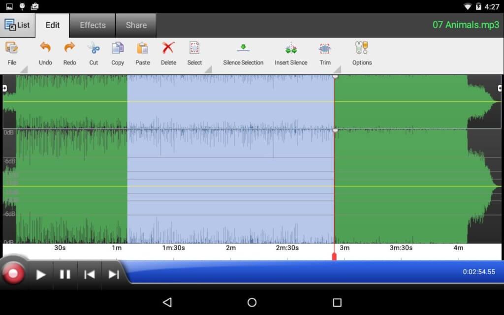 WavePad Audio Editor - уникальный инструментарий