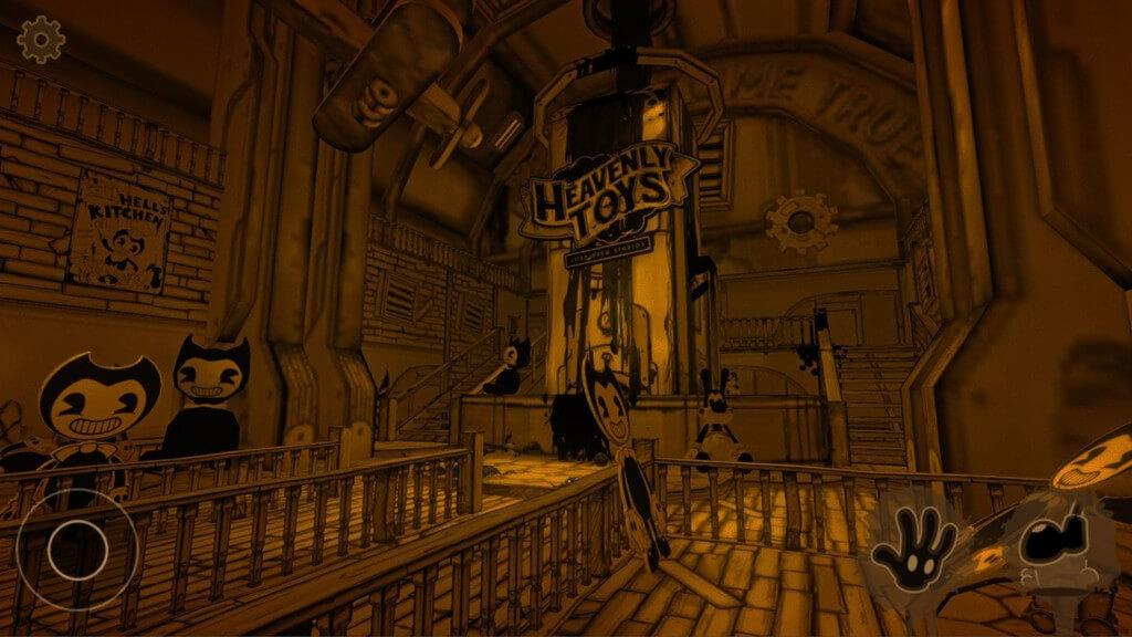 Bendy and the Ink Machine - глубокий и подробный сюжет