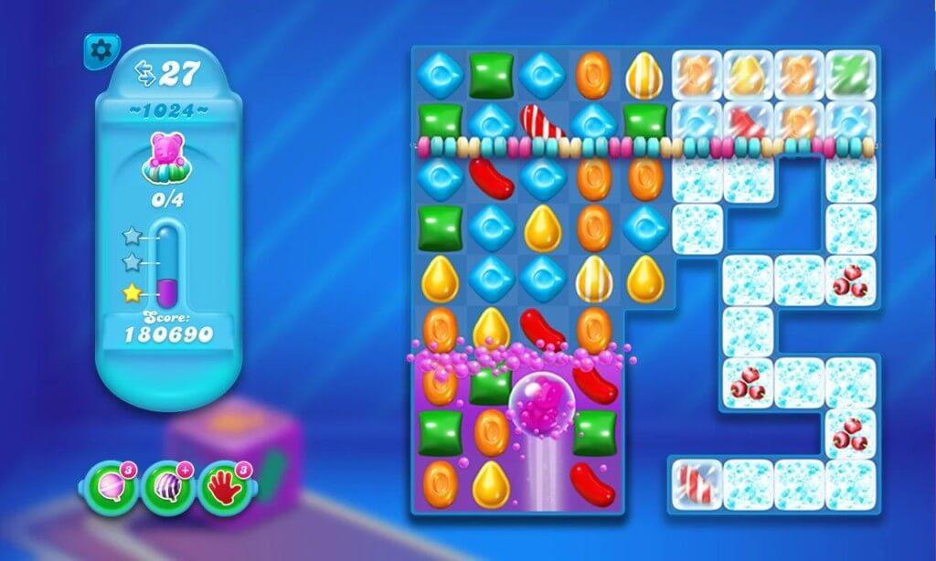Candy Crush Soda Saga - более пяти тысяч уровней