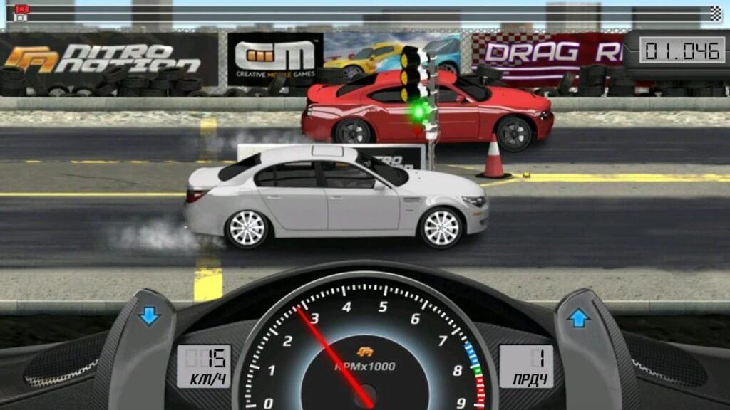 Drag Racing - сражайтесь с игроками со всего мира онлайн