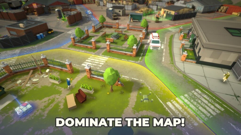 Сетевые банды в игре Grand Wars Mafia City