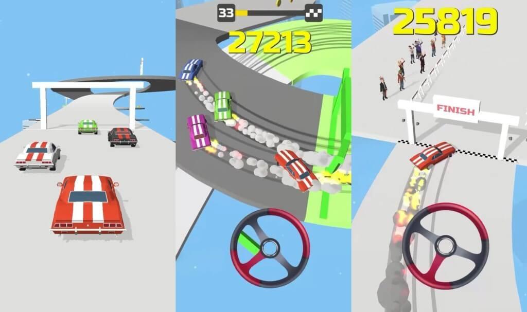 Hyper Drift - сотни интересных уровней