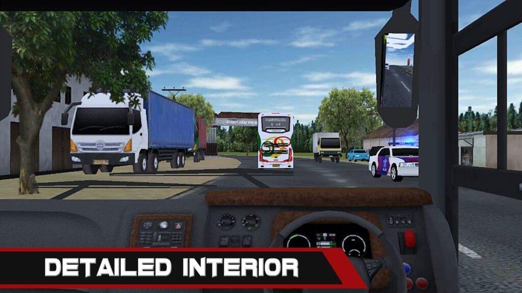Mobile Bus Simulator - реалистичные дорожные карты