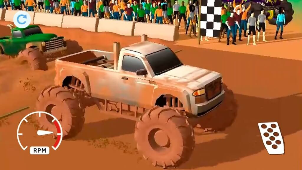 Mud Racing - преодолевайте сложные трассы