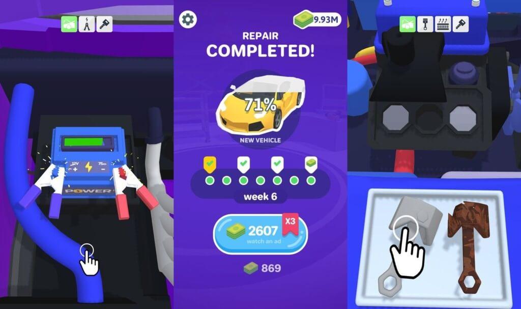 Repair My Car! - реалистичный сюжет