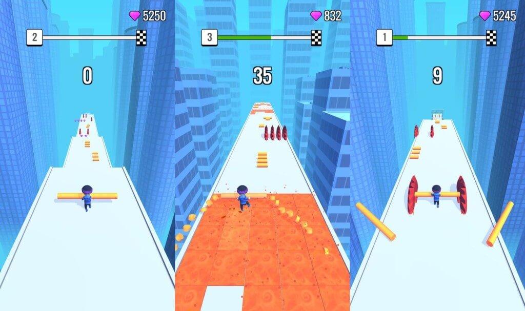 Roof Rails - уникальный и простой геймплей