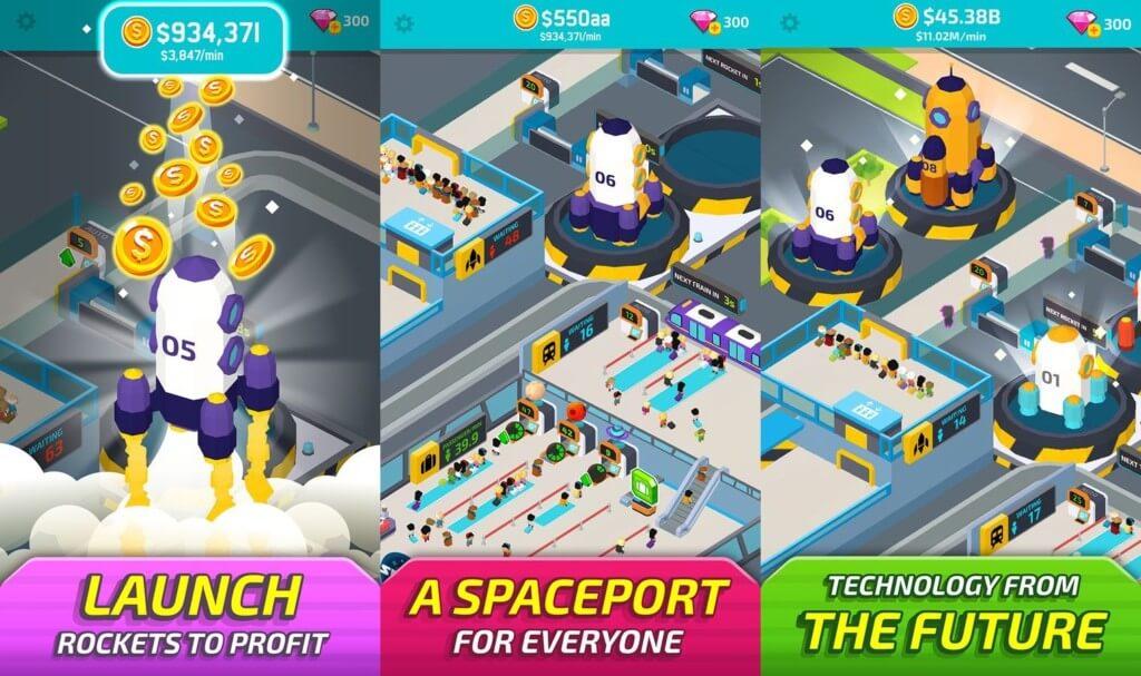 Графика и звук в игре Space Inc