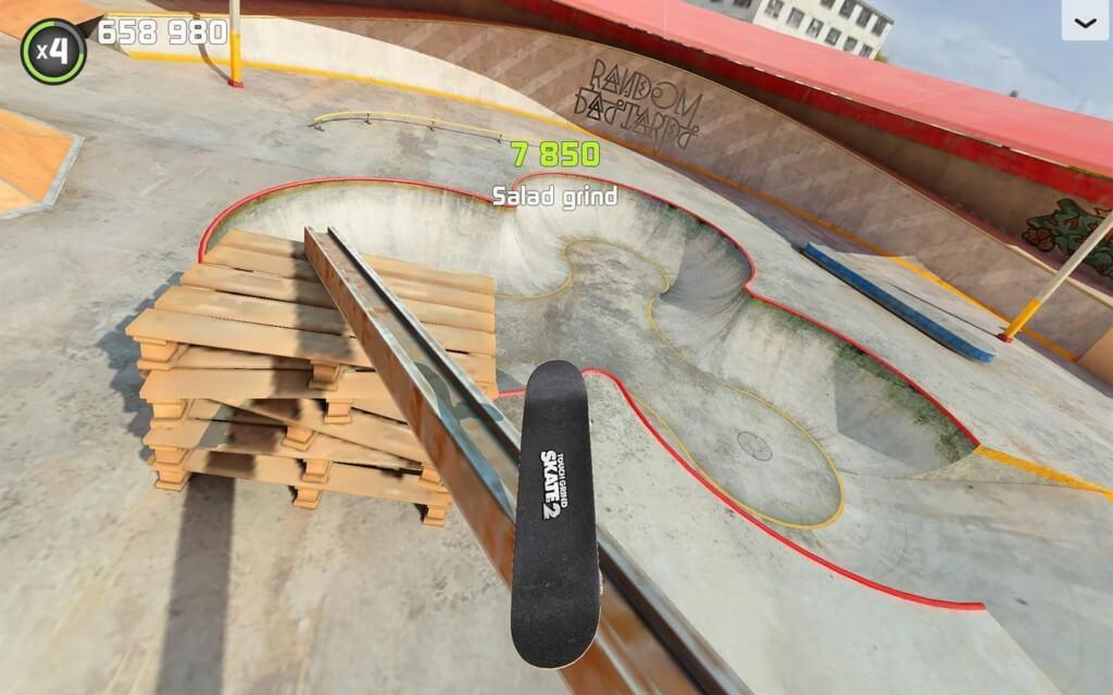 Touchgrind Skate 2 - физика на уровне реальной жизни